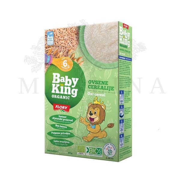 Ovsene cerealije organic Baby King 200g