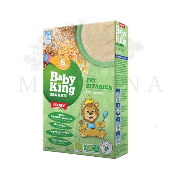 Pet žitarica cerealije organic Baby King 200g