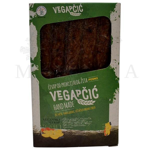 Vegapčić - ćevap od proklijalog žita organic 400g