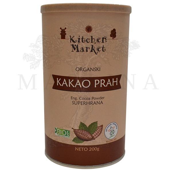 Kakao prah organski Kitchen market 200g