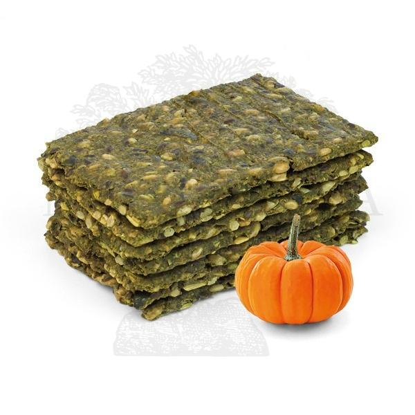 Proteinske pločice bez brašna sa bundevom - zelene