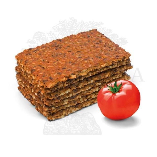 Proteinske pločice bez brašna sa paradajzom - crvene