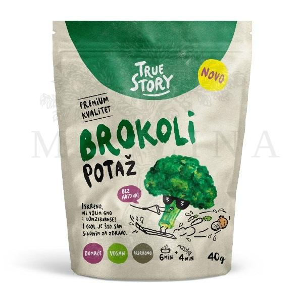 Potaž brokoli True Stroy 40g