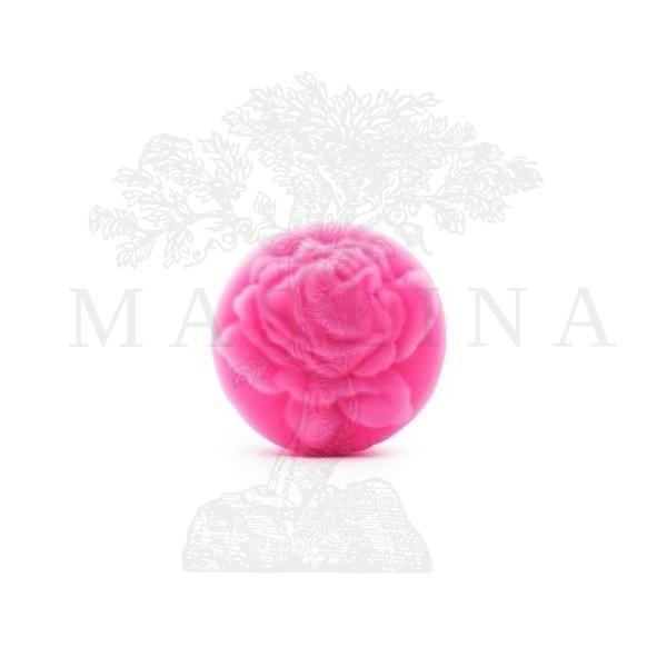 Glicerinski sapun sa ružinim uljem ''Okrugla ruža'' 60g