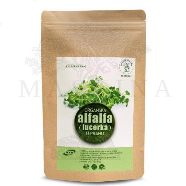 Organska alfalfa (lucerka) u prahu DTC 100g