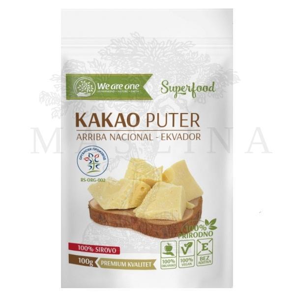 Kakao puter organic We are one 100g