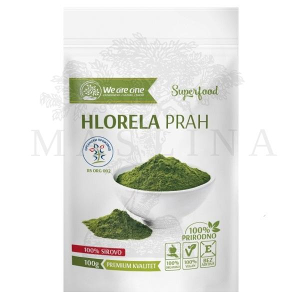 Hlorela prah organic We are one 100g