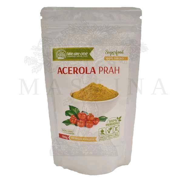 Acerola prah organic We are one 100g