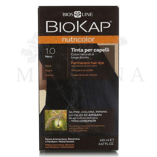 BioKap Farba za kosu 1.0 crna 140ml