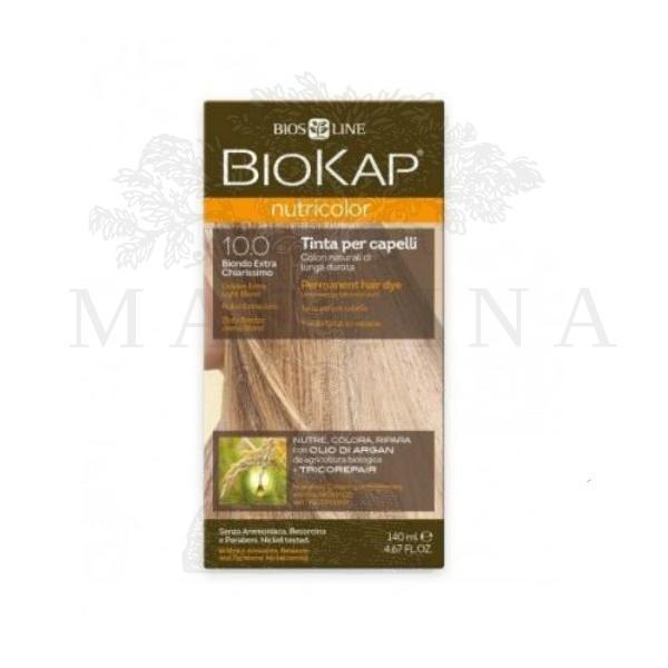 BioKap Farba za kosu 10.0 zlatno vrlo svetlo plava 140ml