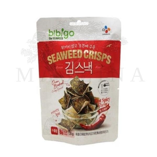 Snek od pirinča i morskih algi ljuti  Bibigo 20g