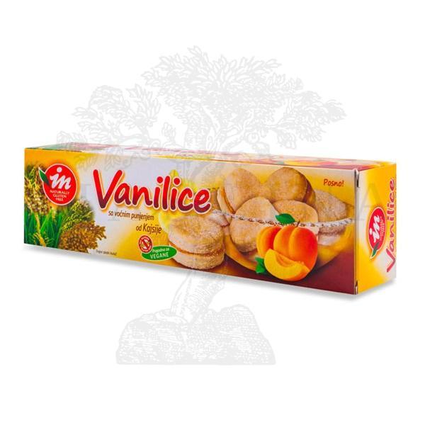 Bezglutenske vanilice sa kajsijom 180g In proizvod