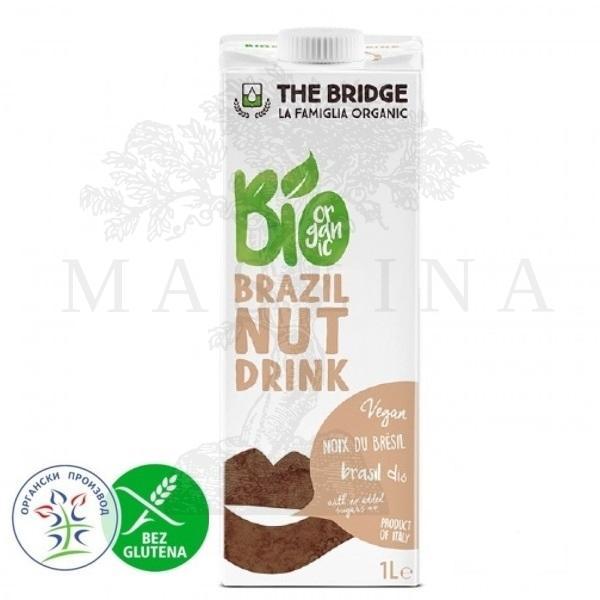 Napitak od brazilskog oraha, organski, bez glutena 1l The Bridge