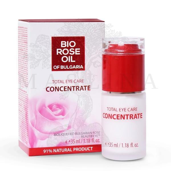 Bio Rose Bio koncentrat ružinog ulja protiv bora oko očiju 35ml
