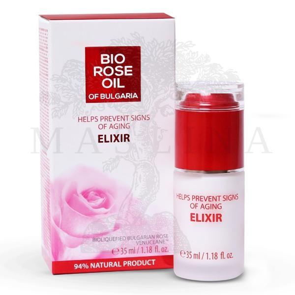 Bio Rose Serum  protiv starenja od ružinog ulja 35ml