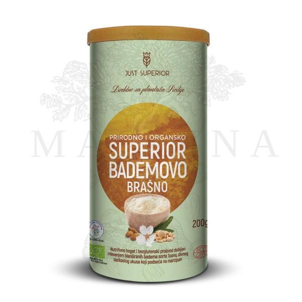 Bademovo brašno organic Just Superior 200g