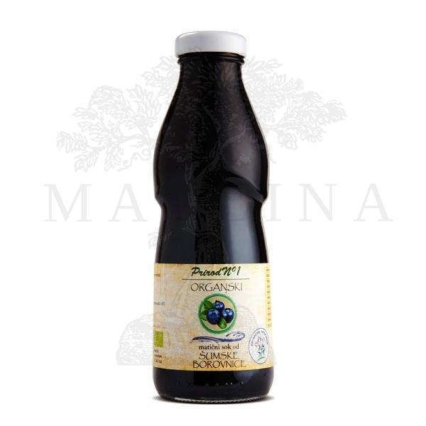 Matični sok od šumske borovnice organic 500ml