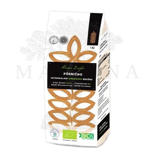 Pšenično crno organsko brašno tip 1100 Naše Dobro 1kg