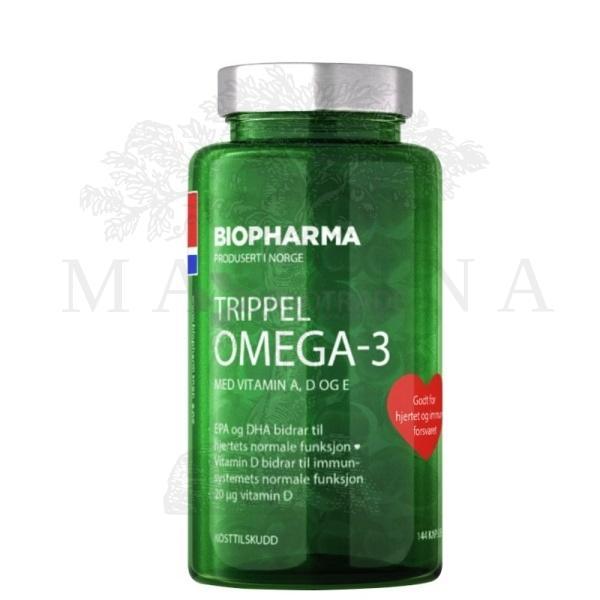 Norveške omega -3 +vitamini A, D, E 144 kapsule
