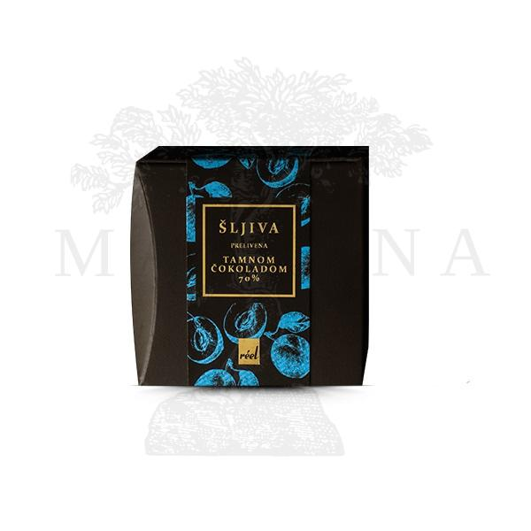 Šljiva prelivena tamnom čokoladom Reel 120g