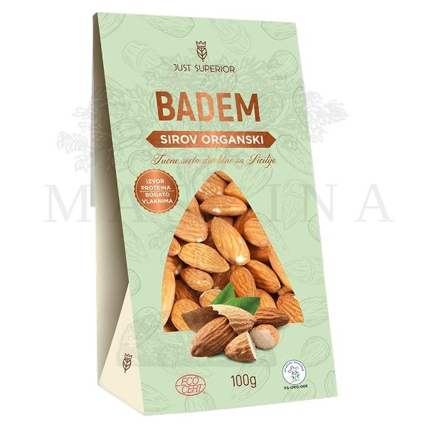 Badem sirov organic Just Superior 100g