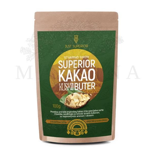 Kakao buter Kusko Just Superior 100g