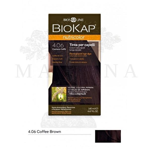 BioKap Farba za kosu 4.06 kafeno smeđa 140ml