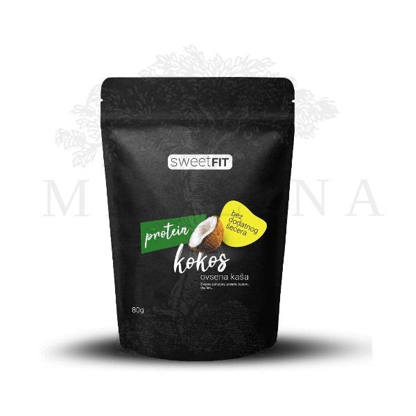 Proteinska ovsena kaša kokos Sweetfit 80g