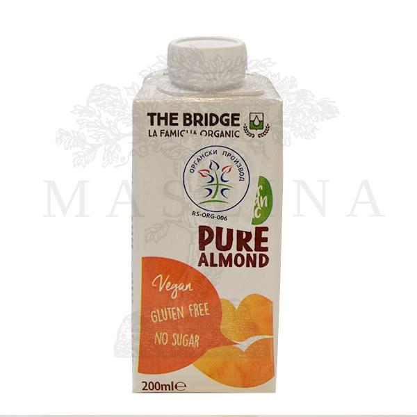Napitak od badema Pure organic The Bridge 200ml