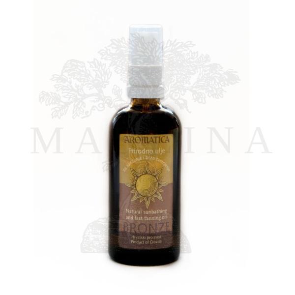 Aromatica Prirodno ulje za sunčanje i brzo tamnjenje 100ml