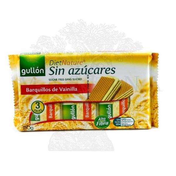 Gullon Napolitanke vanila bez šećera 210g