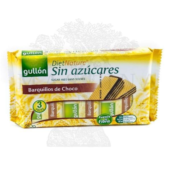 Gullon Napolitanke čokolada bez šećera 210g