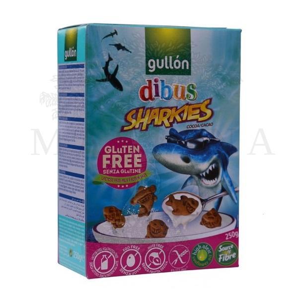 Gullon Čokoladne ajkulice bez glutena 250g