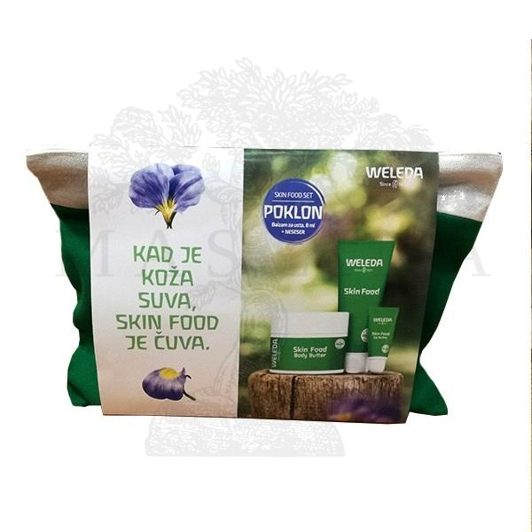 Weleda Skin food promo poklon set