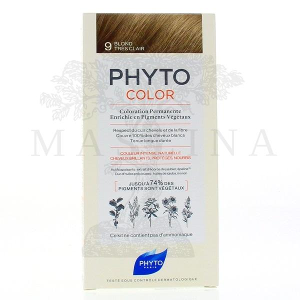Phytocolor farba za kosu 9- very light blond