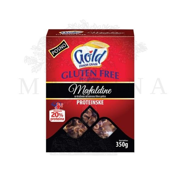 Testenina Mafaldine bez glutena proteinska Gold 350g