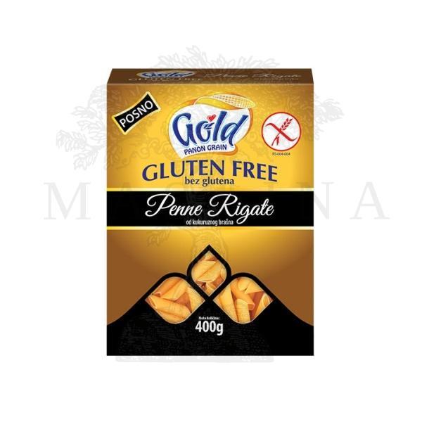 Testenina bez glutena od kukuruznog brašna Gold 400g