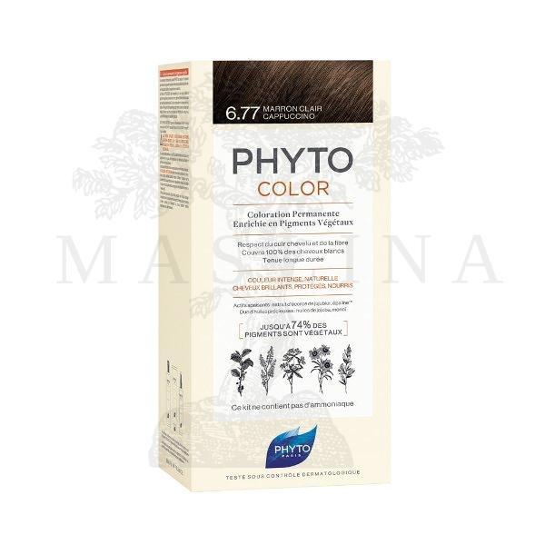 Phytocolor farba za kosu 6.77- light brown cappuccino
