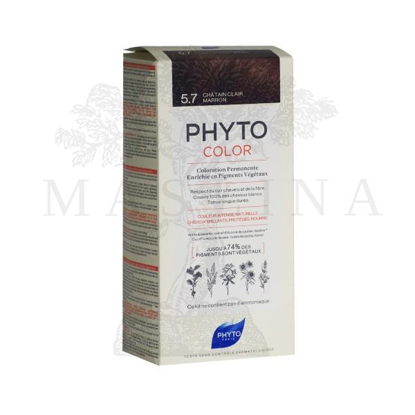 Phytocolor farba za kosu 5.7- light chestnut brown