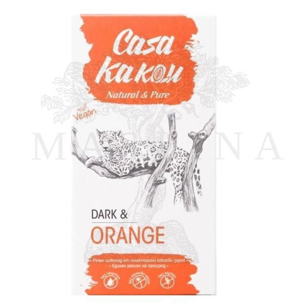 Crna čokolada 70% sa pomorandžom Casa kakau 90g