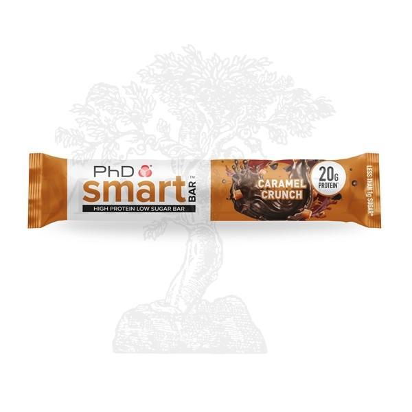 Phd smart protein bar caramel crunch 64g