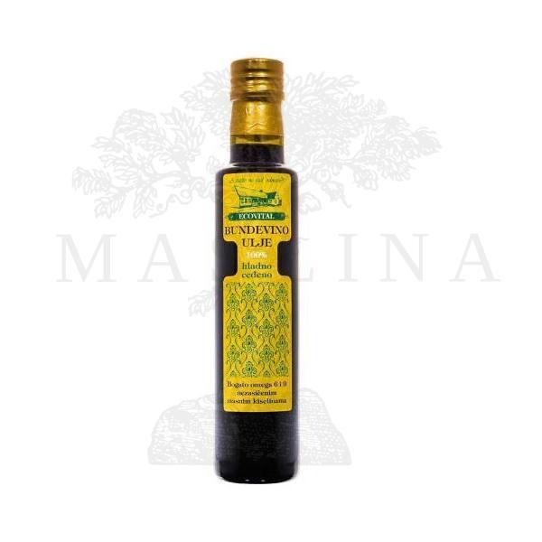 Bundevino ulje hladno ceđeno Ecovital 250ml