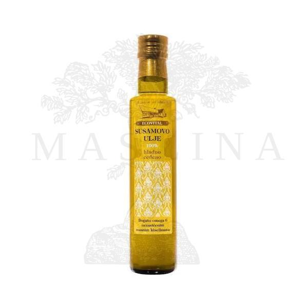 Susamovo ulje hladno ceđeno Ecovital 250ml