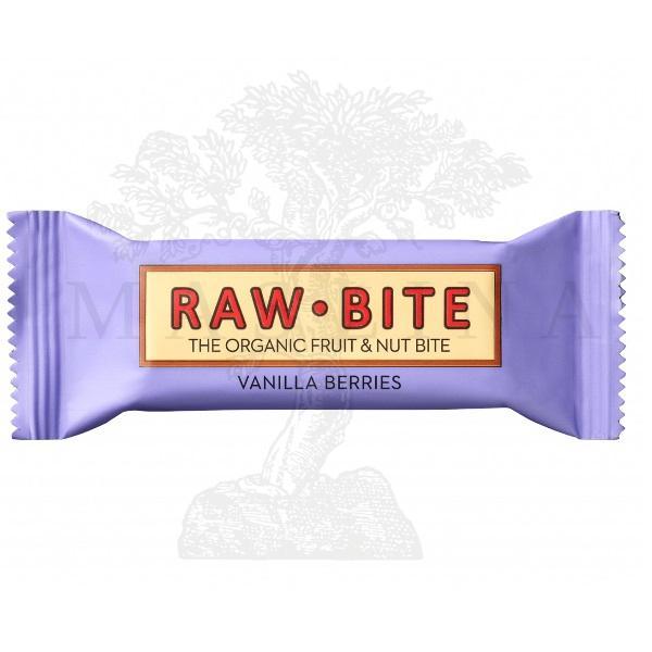 Raw Bite vanila bobičasto voće 50g