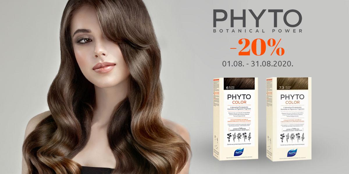 phyto akcija farbe za kosu