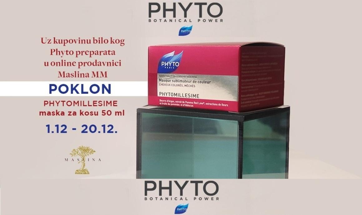 Phyto maska poklon uz online kupovinu