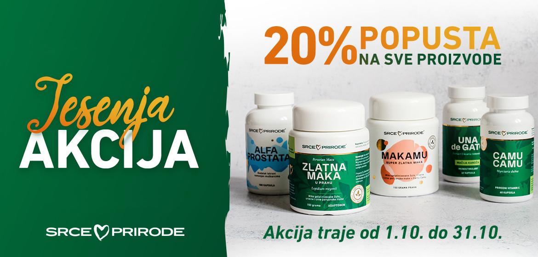 SRCE PRIRODE CEO ASORTIMAN -20% POPUST